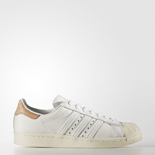 adidas - Superstar 80s Shoes Footwear White/Off White BB2058