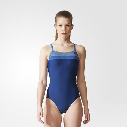 adidas - Colorblock Swimsuit Mystery Blue /Blue BS0212