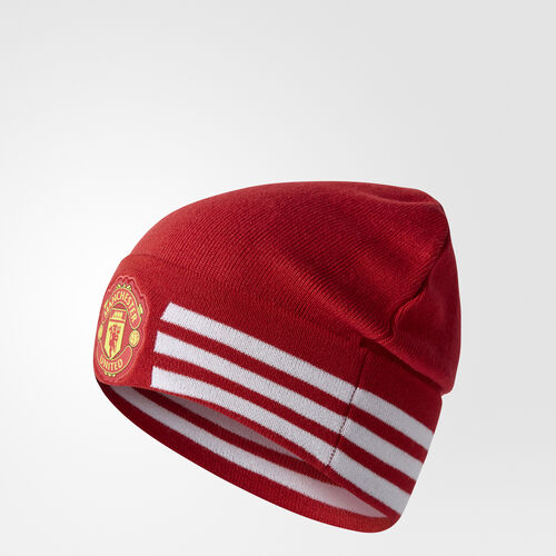 adidas - Bonnet Manchester United FC 3-Stripes Real Red/Power Red/White S94976