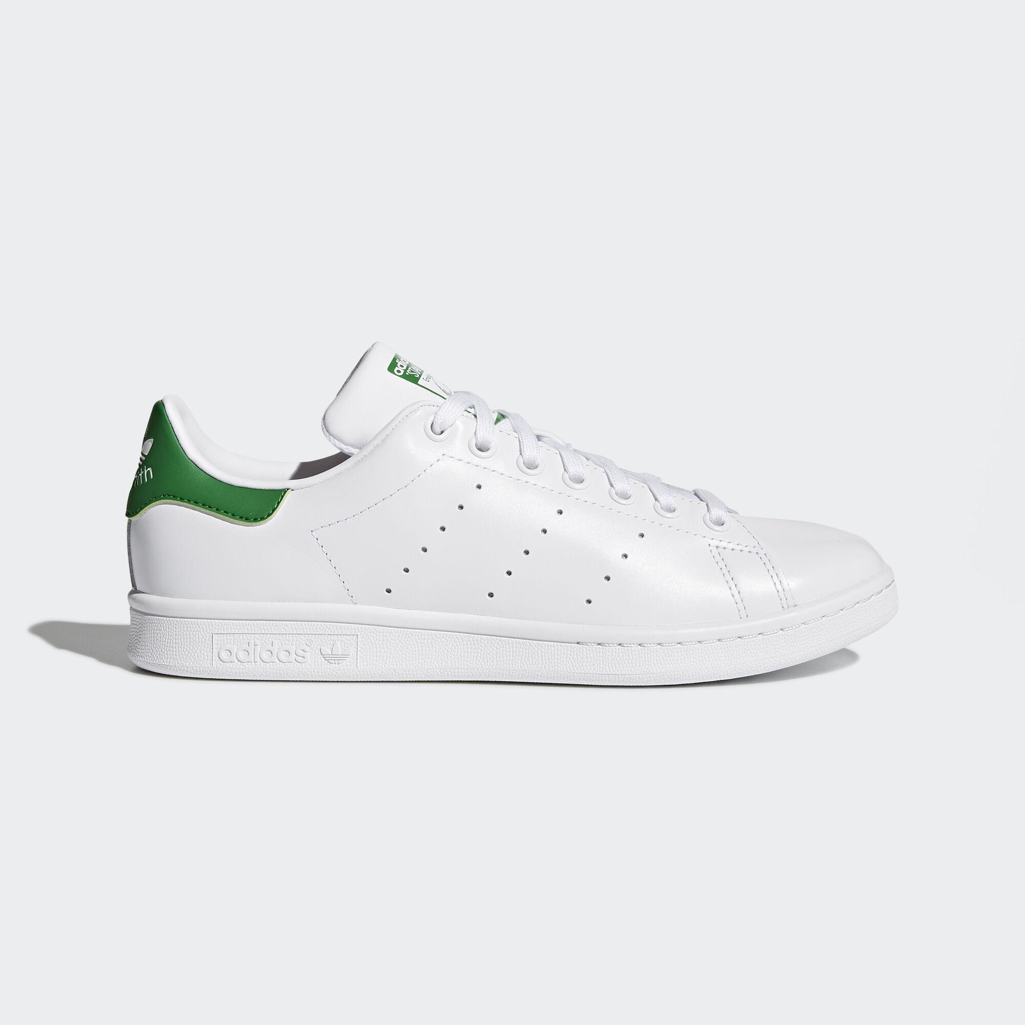 adidas , Zapatilla Stan Smith Footwear White/Core White/Green M20324