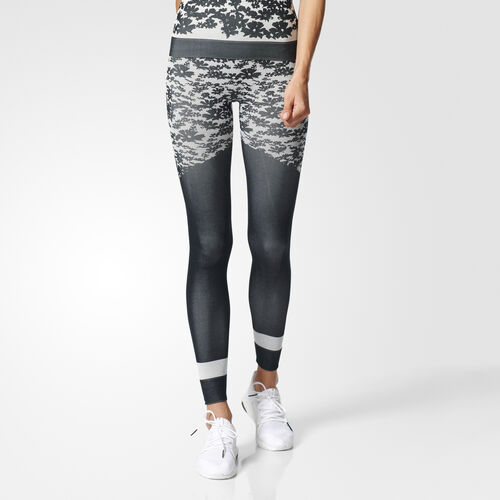 adidas - Run Tights Black/White S98266