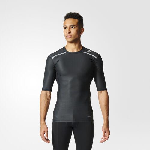 adidas - TECHFIT CHILL SHORT SLEEVE TEE Black AJ5705