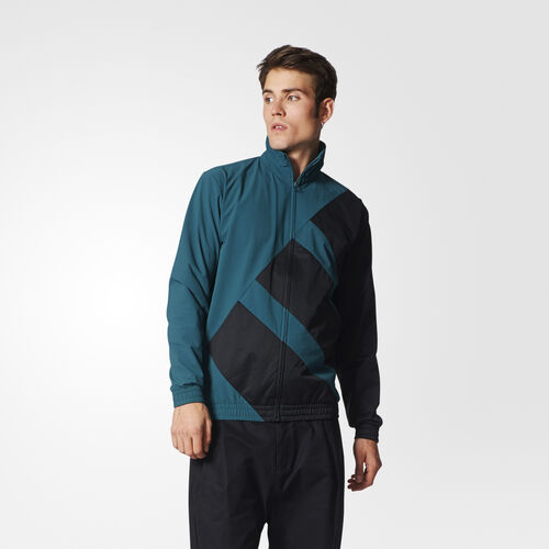 adidas - EQT SST Bold Track Jacket Mystery Green BK7209