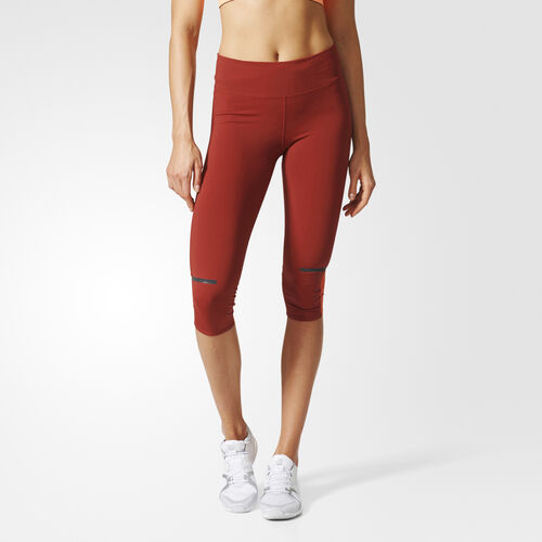 adidas - Chill Three-Quarter Tights Mystery Red AZ2930