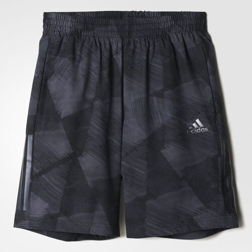 adidas - 3-Stripes Training Shorts Black/Granite BK0928