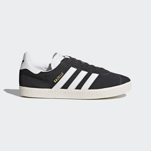 adidas - Gazelle Shoes Dark Grey Heather/Footwear White/Gold Metallic BB2503
