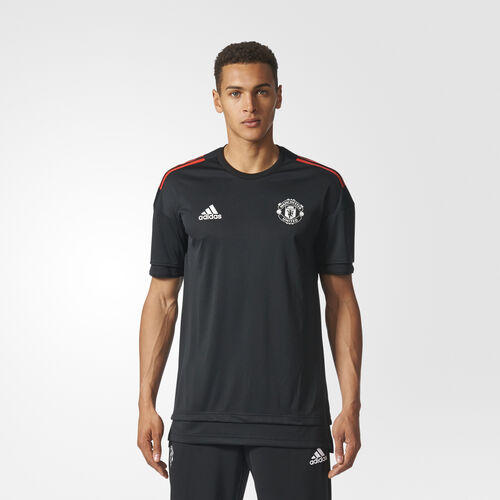 adidas - Manchester United Replica Training Jersey Black/Red BS4318