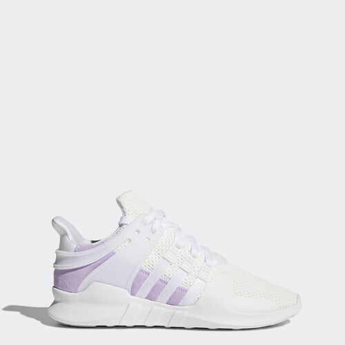 adidas - EQT Support ADV Shoes Footwear White/Footwear White/Purple Glow BY9111