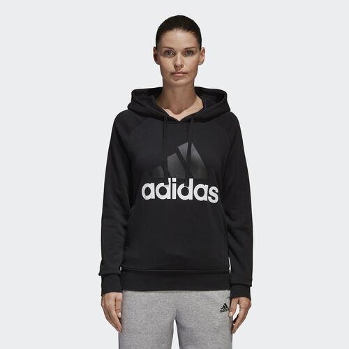 adidas - Essentials Linear Pullover Hoodie Black S97081