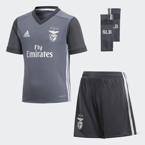 adidas - Benfica Away Mini Kit Onix/Dark Grey B31020
