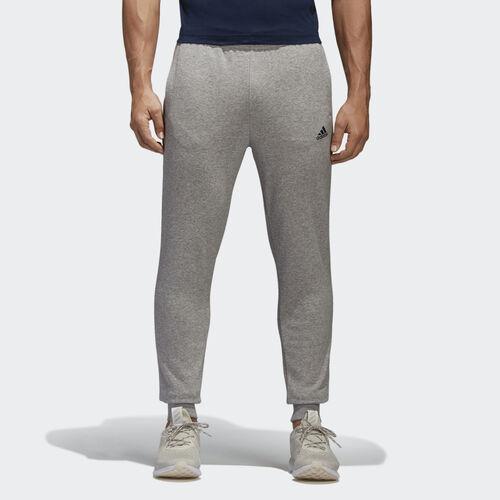 adidas - Essentials French Terry Pants Medium Grey Heather/Collegiate Navy BK7442