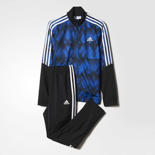 adidas - Tiro Track Suit Black/Blue/White BQ3006
