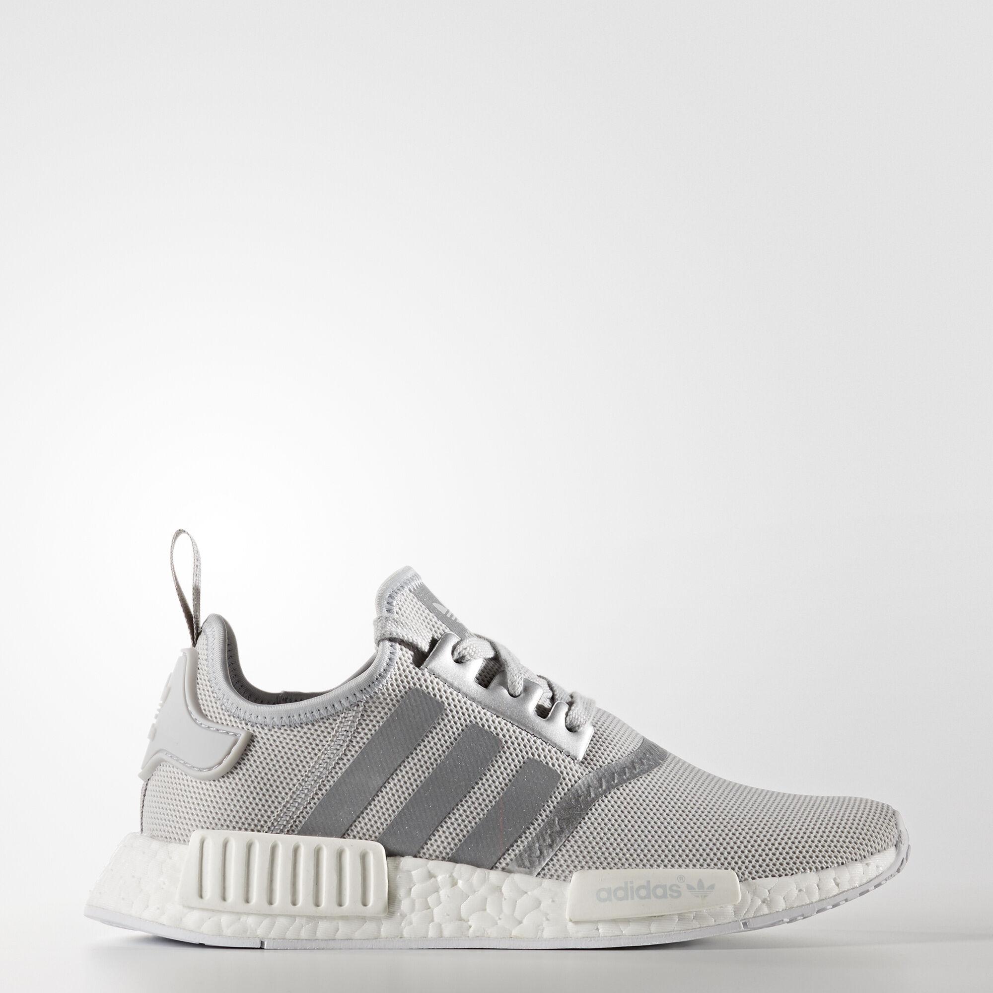 Adidas Skor Silver