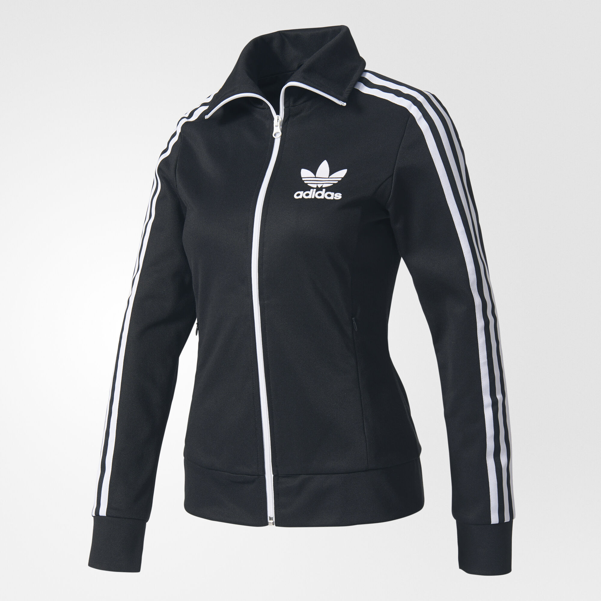 adidas europa track jacket black bk5936. Black Bedroom Furniture Sets. Home Design Ideas