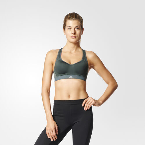 adidas - Sutiã Stronger For It Cross-Back Utility Ivy BK2171