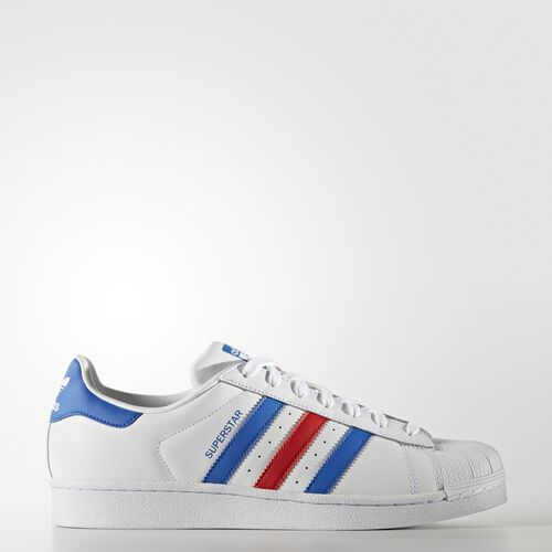 adidas - Superstar Shoes Footwear White/Blue/Red BB2246
