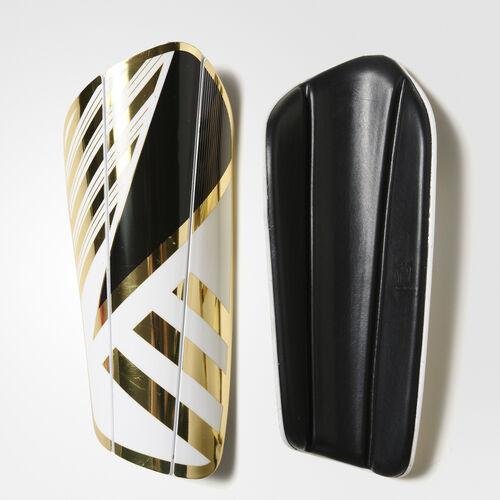 adidas - Ghost Core Regular Shin Guards White/Core Black/Gold Met. AP7052