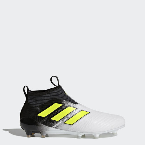 adidas - ACE 17+ Purecontrol Firm Ground Boots Footwear White/Solar Yellow/Core Black S77164