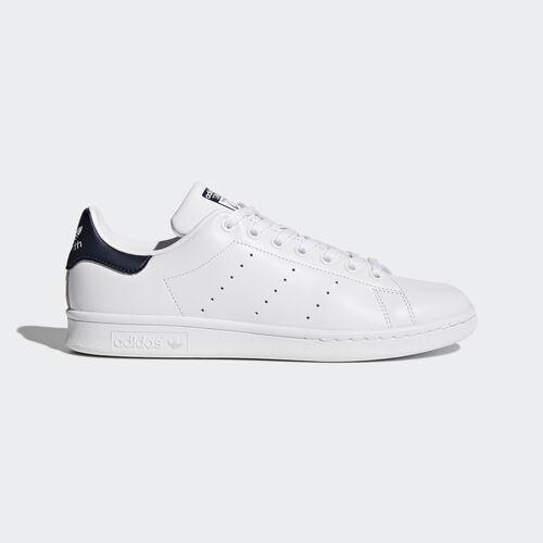 adidas - Stan Smith Shoes Core White/Dark Blue M20325