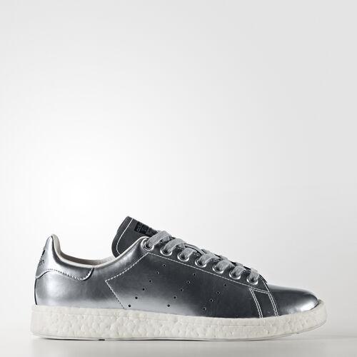 adidas - Stan Smith Boost Shoes Silver Metallic/Footwear White BB0108