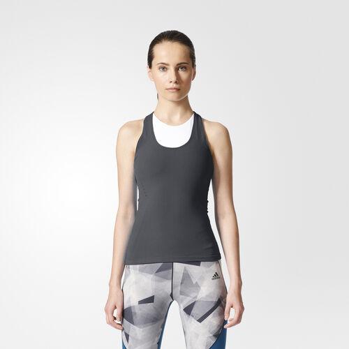 adidas - Camiseta de tirantes Warp-Knit Dark Grey BR1664