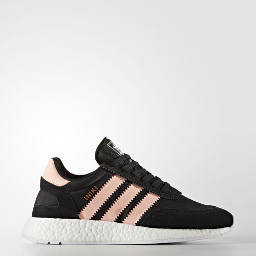adidas - Iniki Runner Schuh Core Black/Haze Coral/Footwear White BB0000