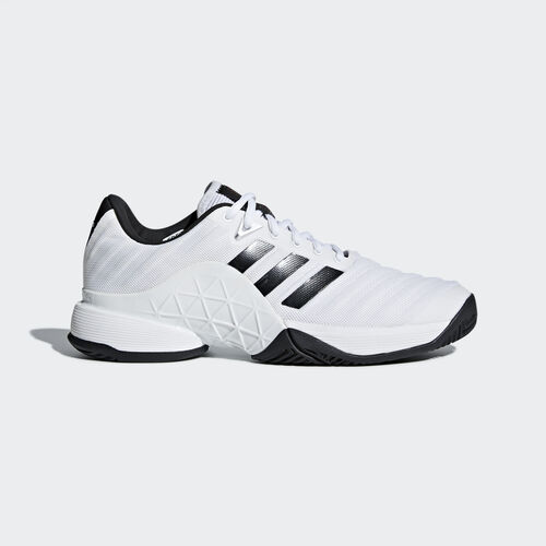 adidas - Barricade 2018 Shoes Ftwr White/Core Black/Matte Silver CM7819