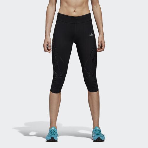 adidas - adizero Sprintweb Three-Quarter Tights Black S99701