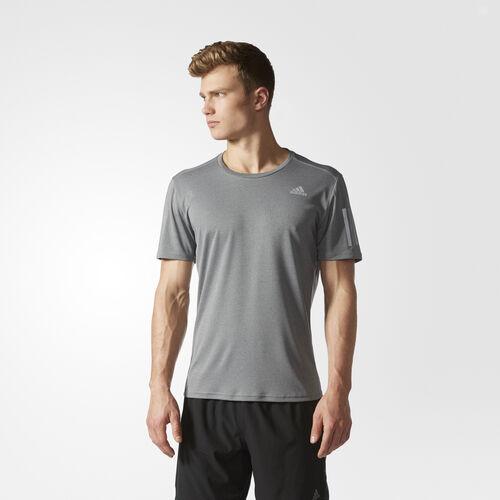 adidas - Response Soft Tee Dark Grey Heather S99012