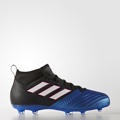 adidas - ACE 17.1 Firm Ground Boots Core Black/Footwear White/Blue BA9215