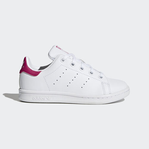 adidas - Stan Smith Shoes Footwear White/Bold Pink BA8377
