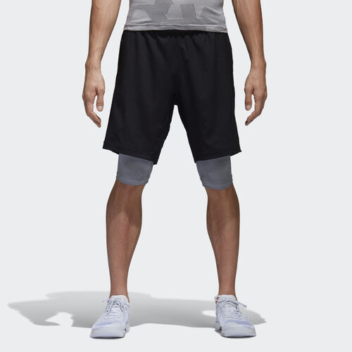 adidas - Crazytrain 2-in-1 Shorts Black BR8551