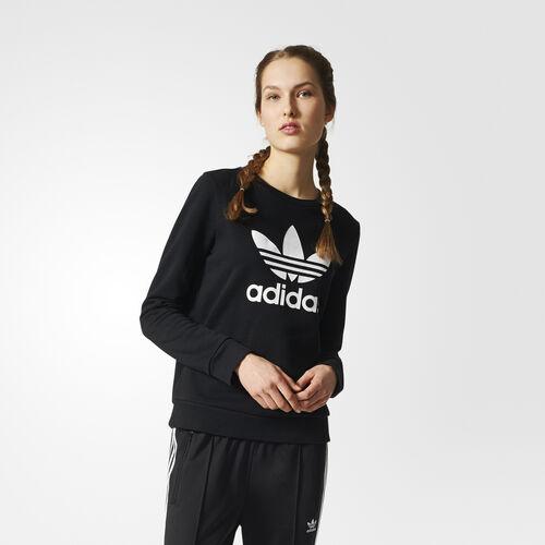 adidas - Trefoil Crew Sweatshirt Black BP9490