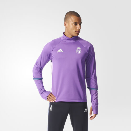 adidas - Real Madrid Training Top Ray Purple/Crystal White AO3131