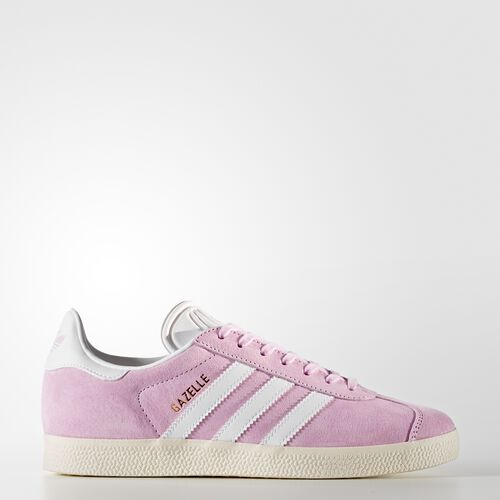 adidas - Gazelle Shoes Wonder Pink /Footwear White/Gold Metalic BY9352