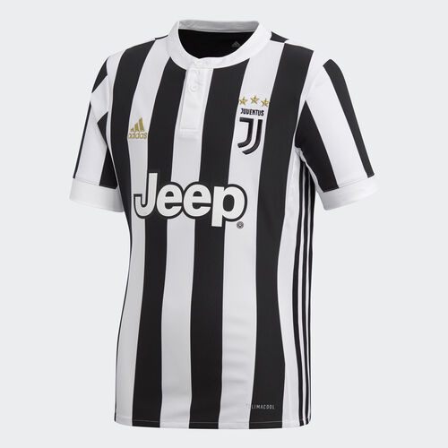 adidas - Juventus Home Replica Jersey White/Black AZ8703