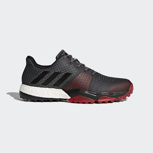 adidas - Sapatos adipower S Boost 3 Grey/Core Black/Scarlet Q44778