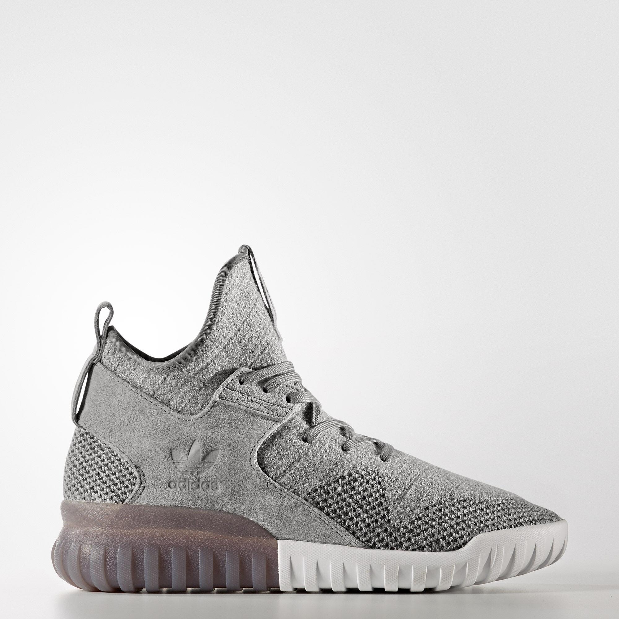 Adidas Tubular X Grey And White