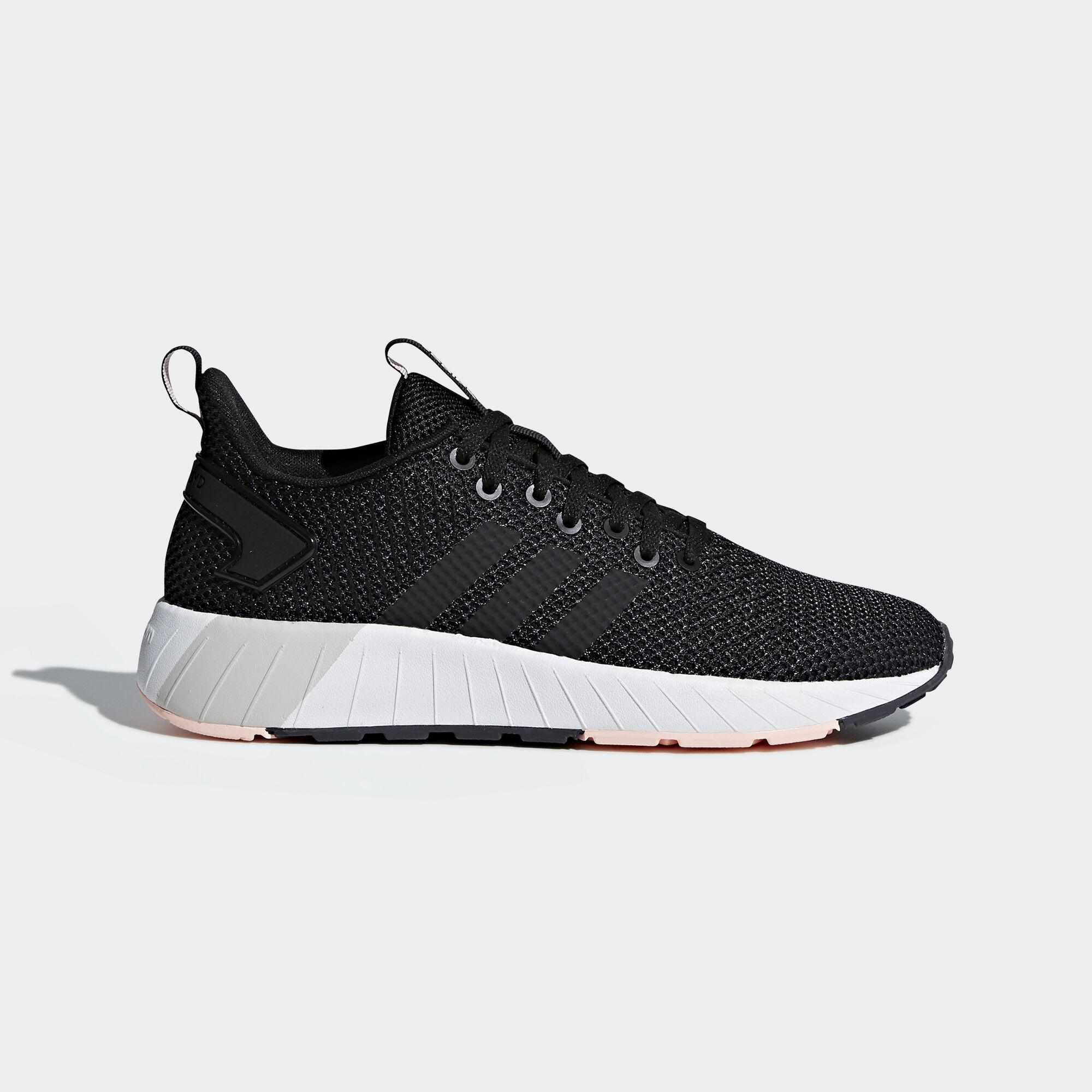 adidas - Questar BYD Shoes Core Black/Core Black/Haze Coral DB1691