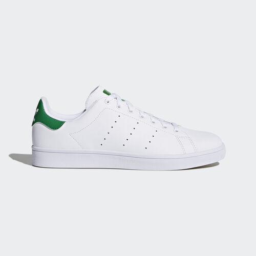 adidas - Stan Smith Vulc Shoes Ftwr White / Ftwr White / Green B49618