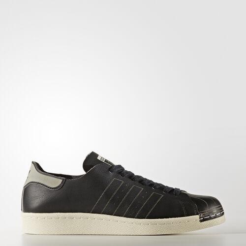 adidas - Superstar 80s Decon Shoes Core Black/Core Black/Vintage White -St BZ0110