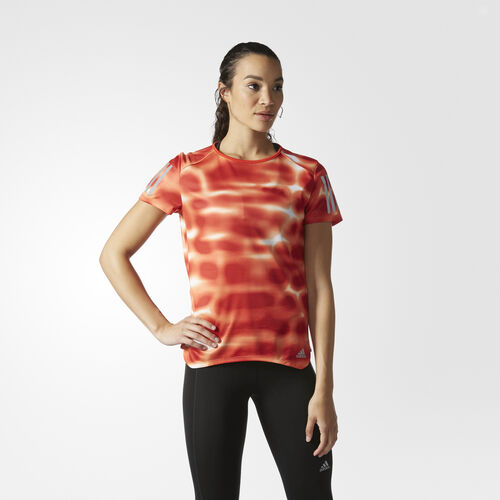adidas - Response Graphic Tee Easy Orange AZ2859