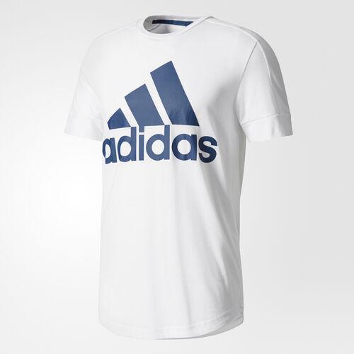 adidas - ID Big Logo T-Shirt White/Blue Night BR4054