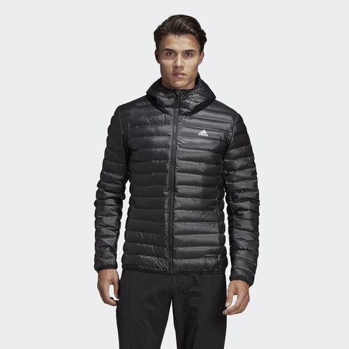 adidas - Varilite Hooded Down Jacket Black BQ7782
