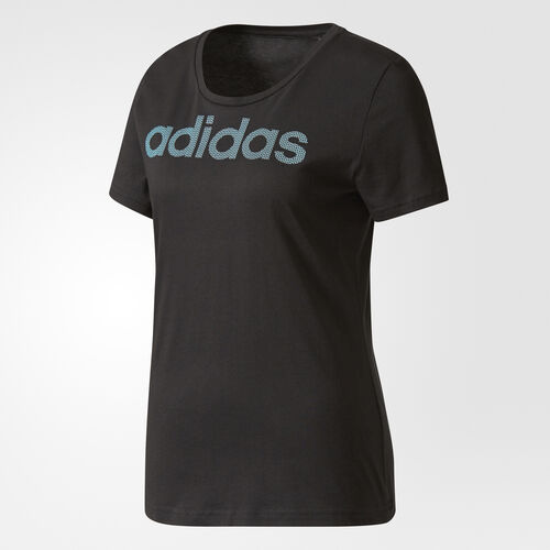 adidas - Essentials Metallic Logo T-shirt Black CD1946