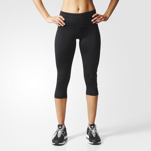 adidas - Mallas 3/4 Workout High Rise Black AI3750