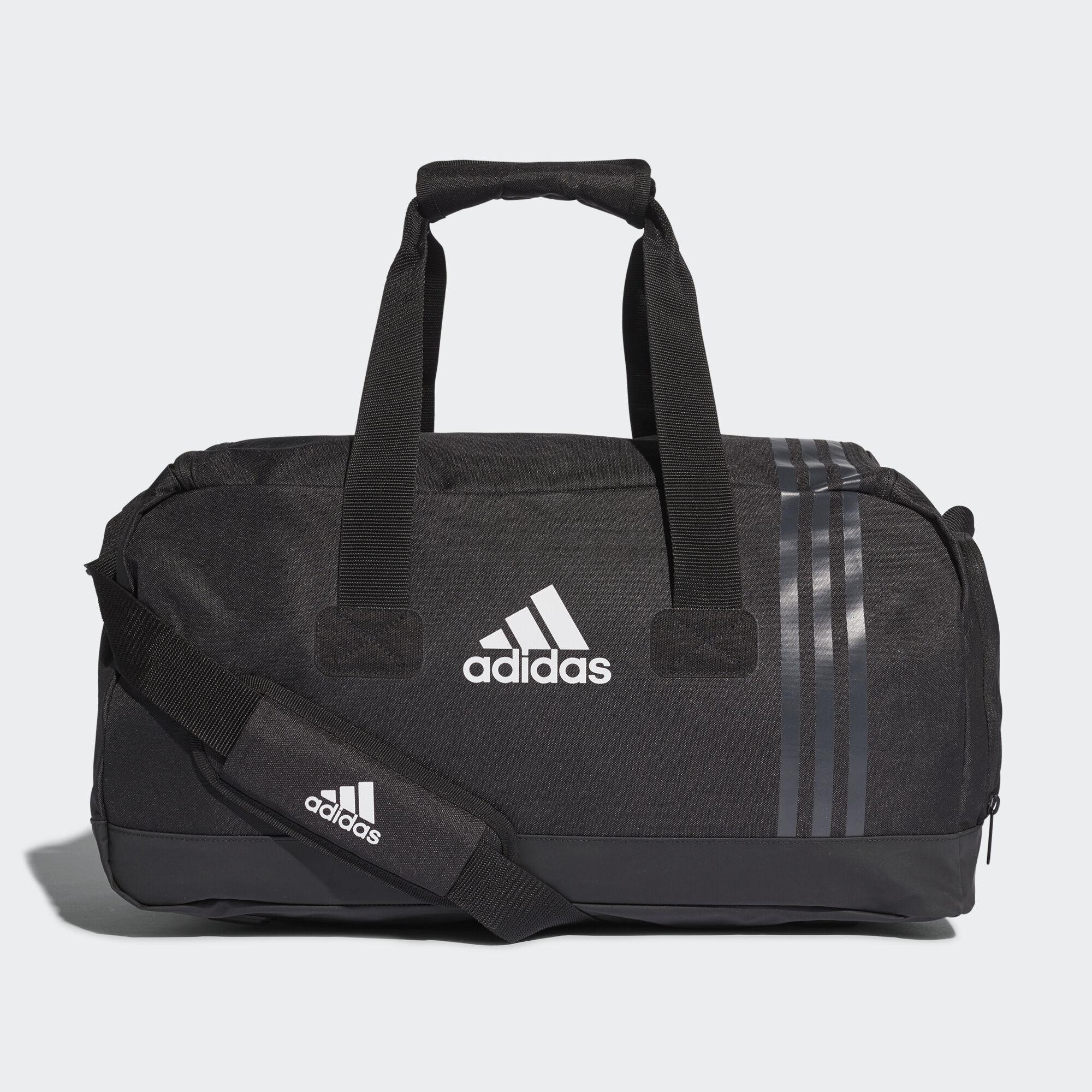 adidas , Bolsa de deporte pequeña Tiro Black/Dark Grey/White B46128