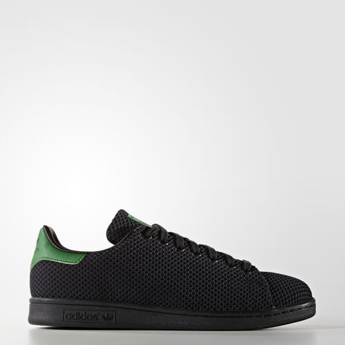 adidas - Stan Smith Shoes Core Black/Core Black/Green S80503
