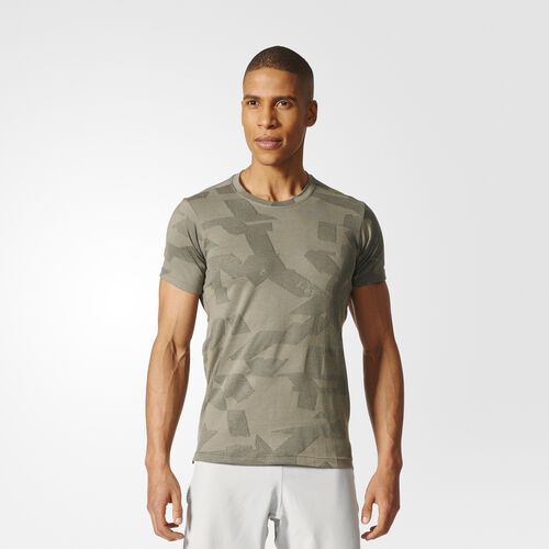 adidas - FreeLift Elevated T-shirt Trace Cargo BR4099