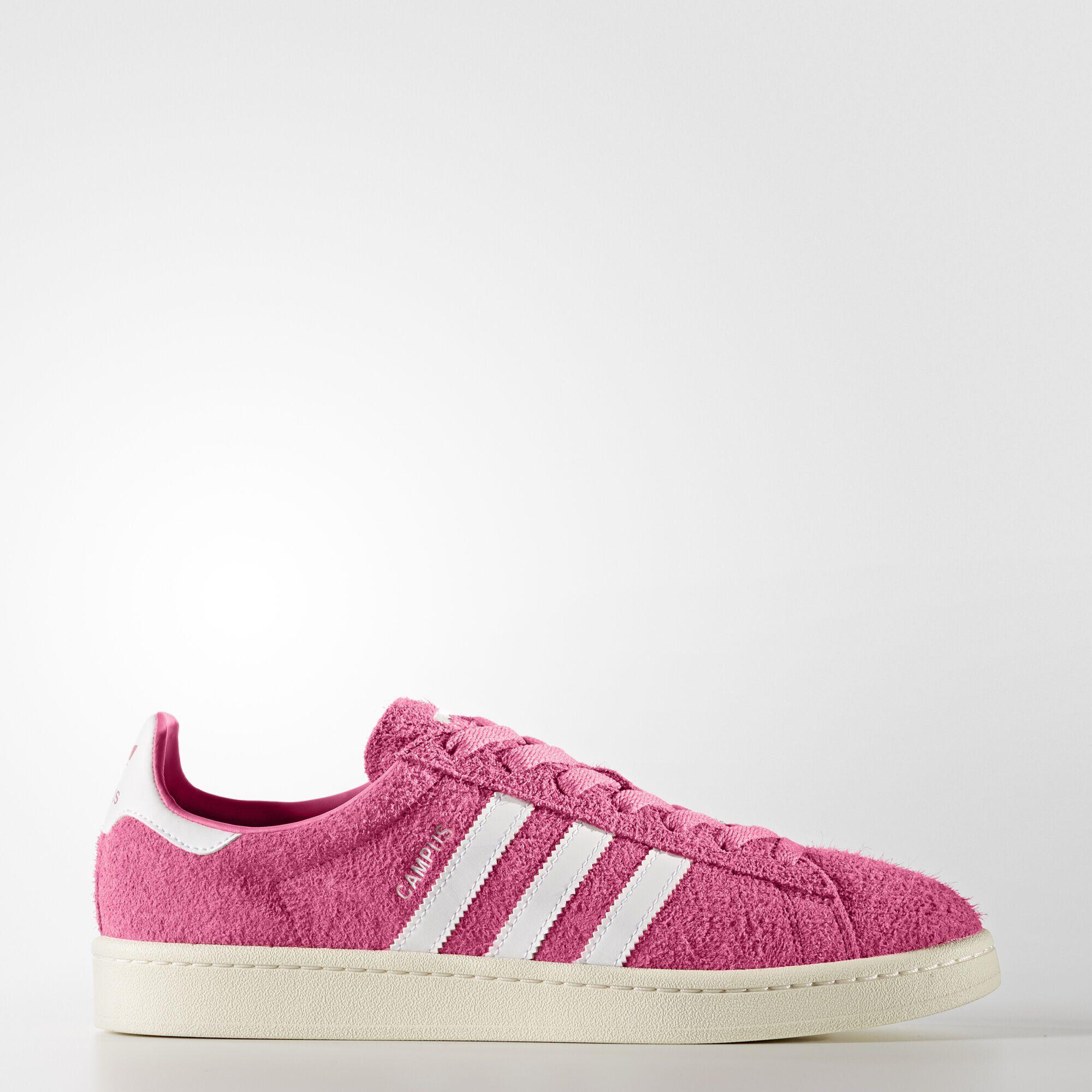 Adidas Campus Shoes Semi Solar Pink Footwear White Cream White BZ0069